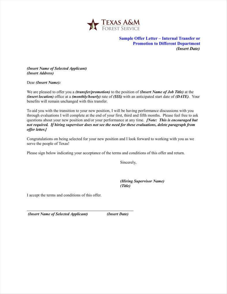Teacher Promotion Letter Templates  Free Pdf Doc Format