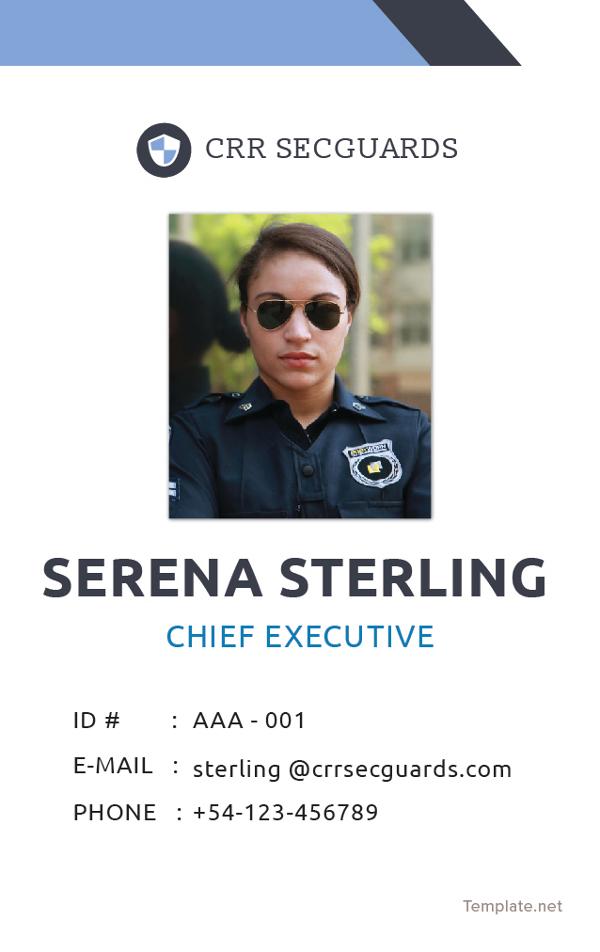 security-guard-id-card-template