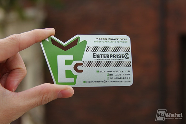 Shaped Business Card