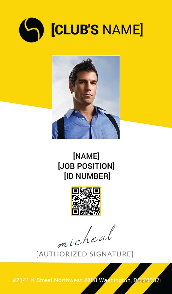 sports-identity-card-template