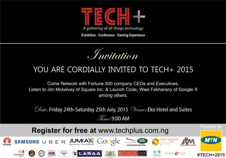 tech conference invitation 2