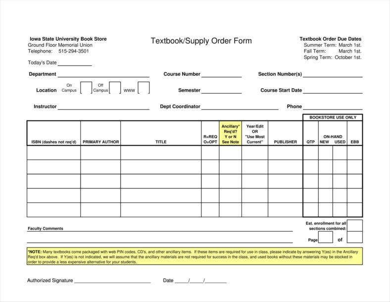 retail order form  retail order form template - Fitbo.wpart.co