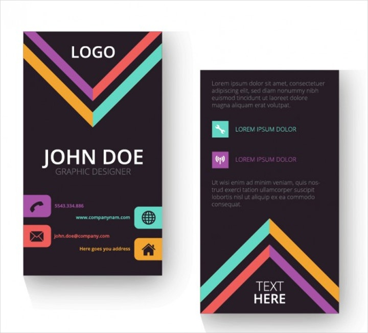vertical business card1