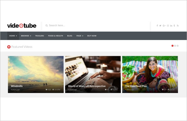 video-tube-blogger-template