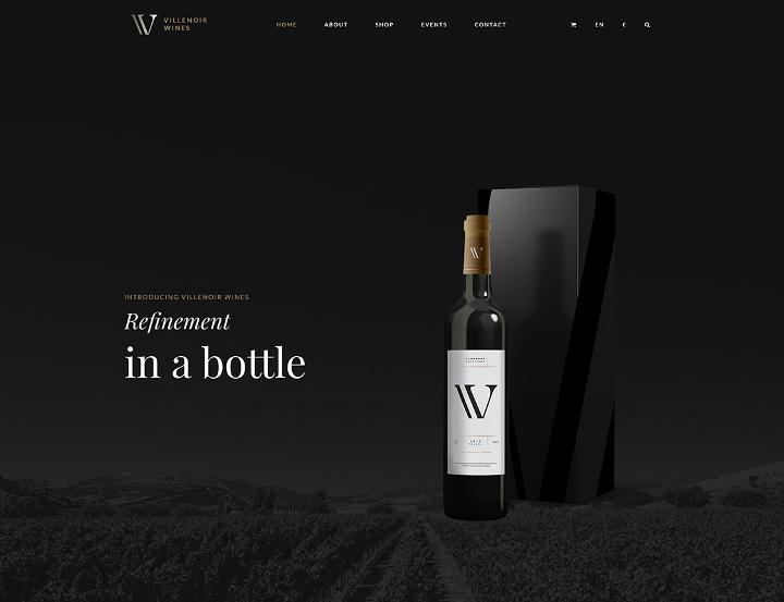 Villenoir - Elegant WordPress Theme.