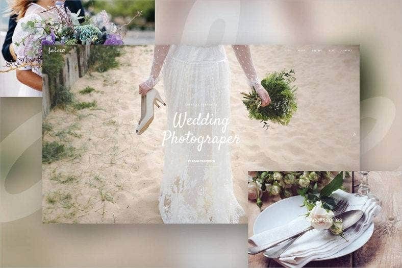 wedding portfolio theme 788x525