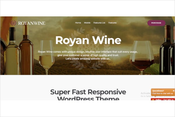 winery wordpress theme1