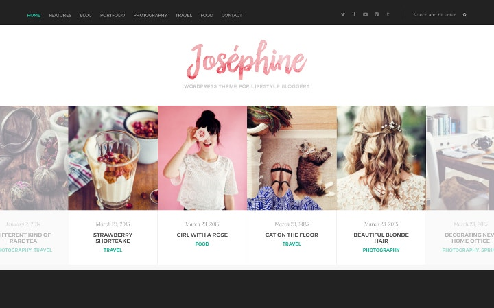 WordPress Theme for Lifestyle Blogger