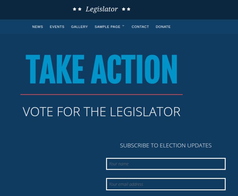 legislator