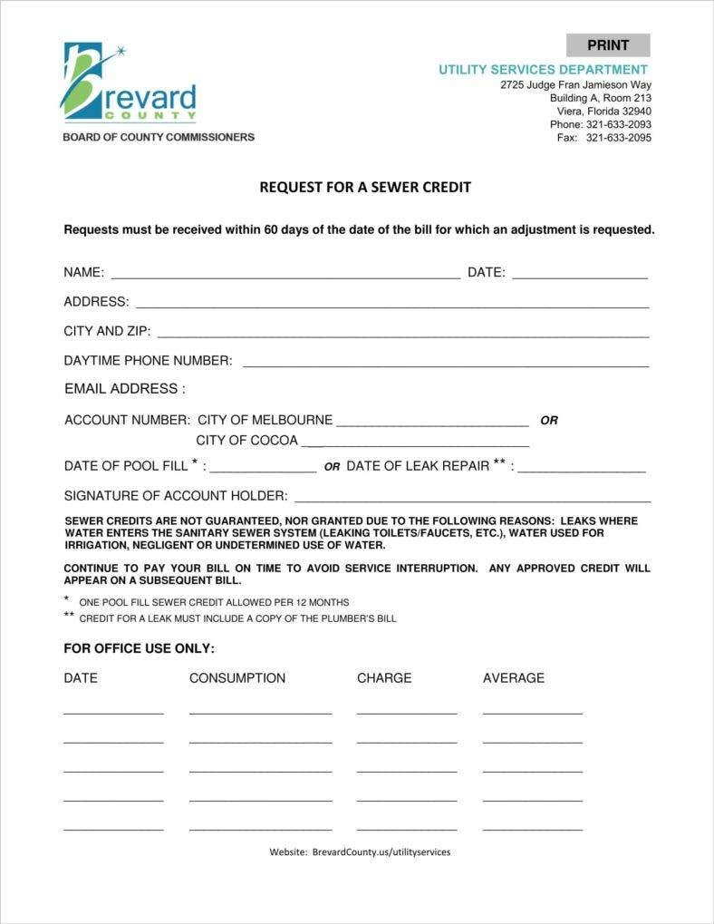 utility-services-sewer-credit-request-form-12-2-14-1