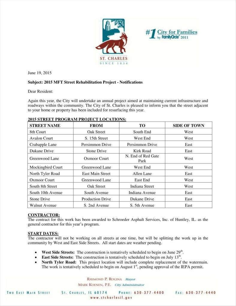 17 Contractor Letterhead Templates Word Pdf Free