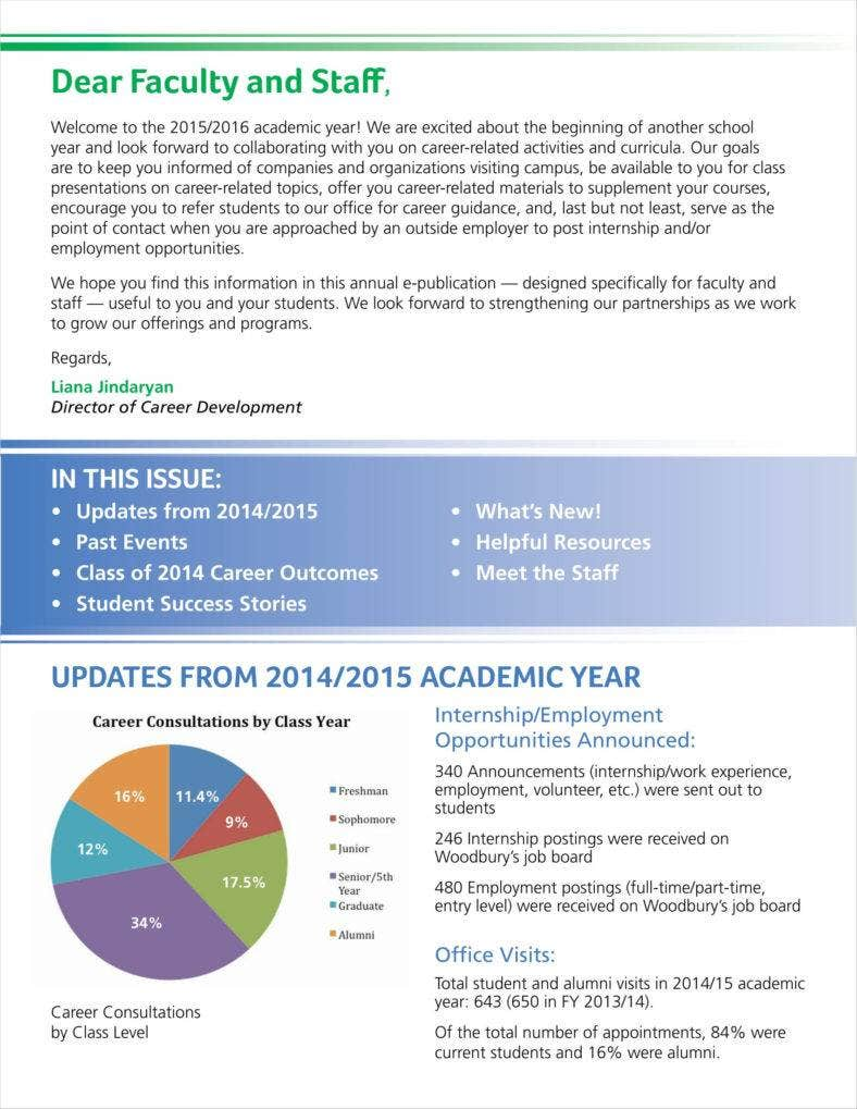 2015 faculty newsletter