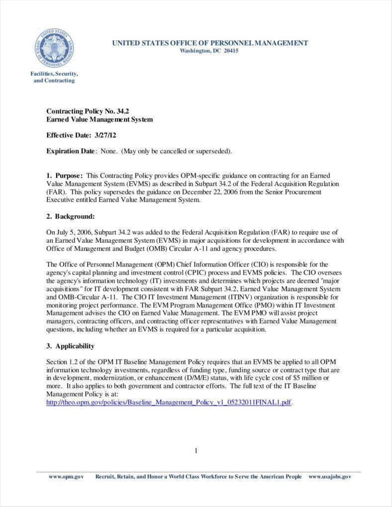 9 contractor letterhead templates free premium templates contracting policy letterhead sample template 342earnedvaluemanagementsystem 1 opm spiritdancerdesigns Gallery