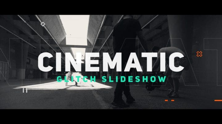 cinematic slideshow template