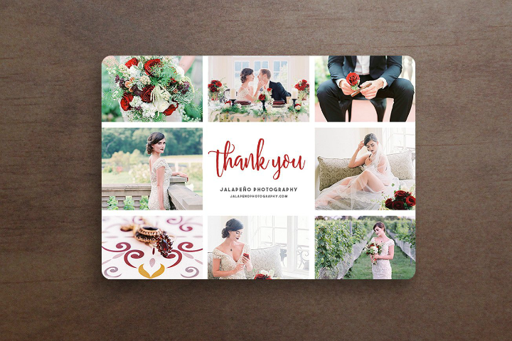 free wedding thank you card template photoshop