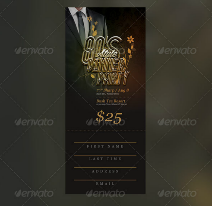 80s-dinner-party-ticket-template