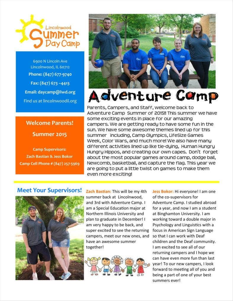 adventure camp welcome newsletter 1 788x1019