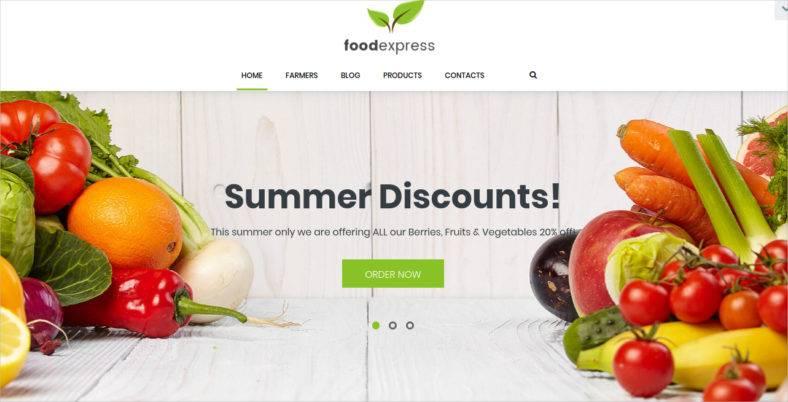 Agriculture & Farm WordPress Theme