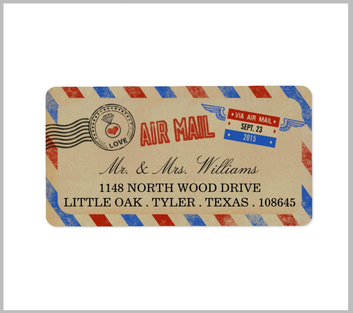 airmail-wedding-address-label