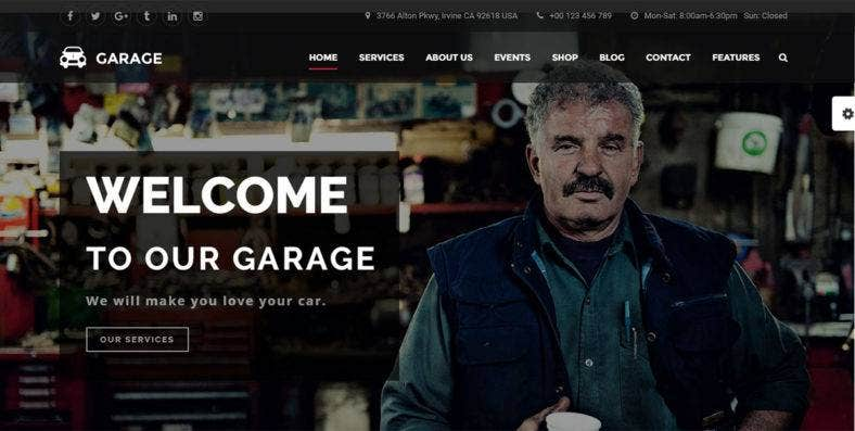 automotive-wordpress-theme-garage