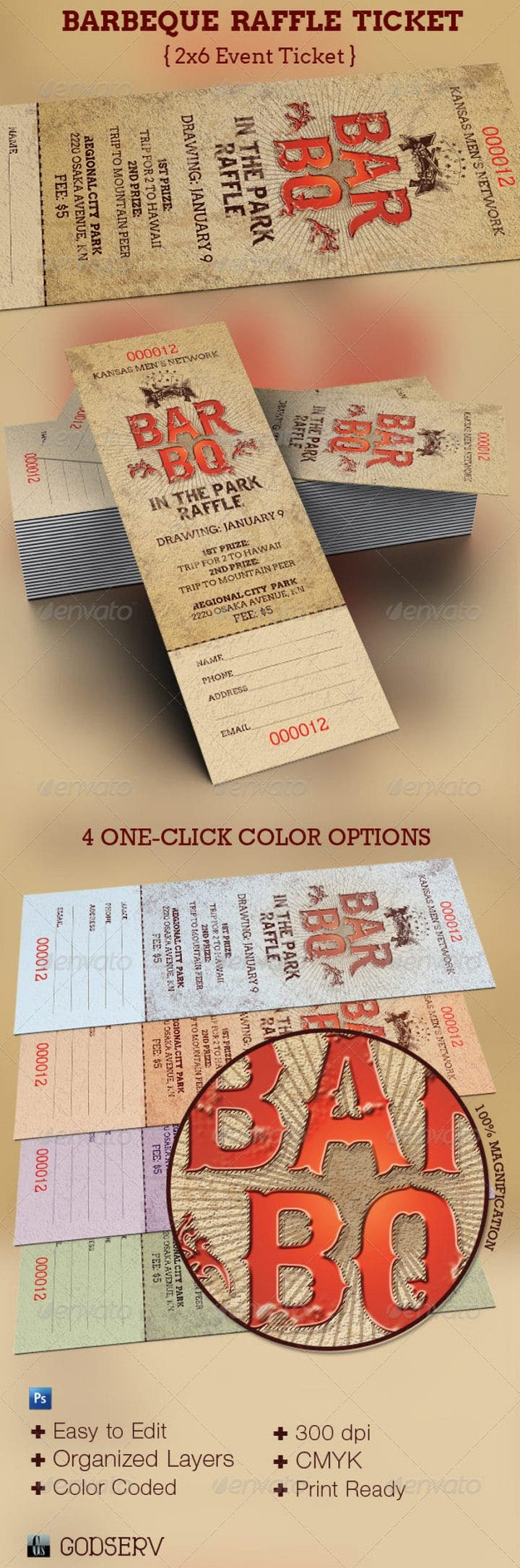 9 appetizing barbecue ticket templates free premium templates