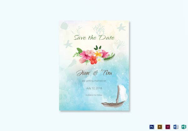 beach-save-the-date-card-template