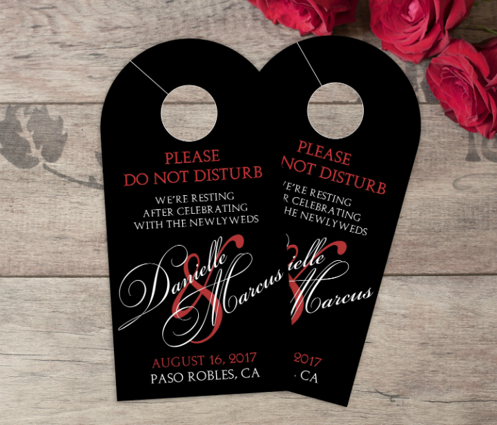 14+ Wedding Door Hanger Templates - Editable PSD, AI Format Download ...