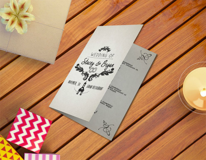 14 wedding program templates psd ai free premium templates