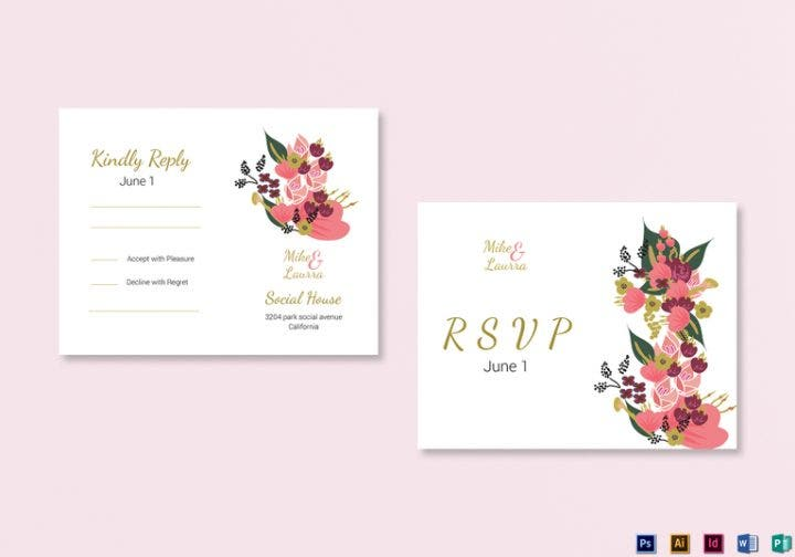 burgundy-floral-rsvp-wedding-card