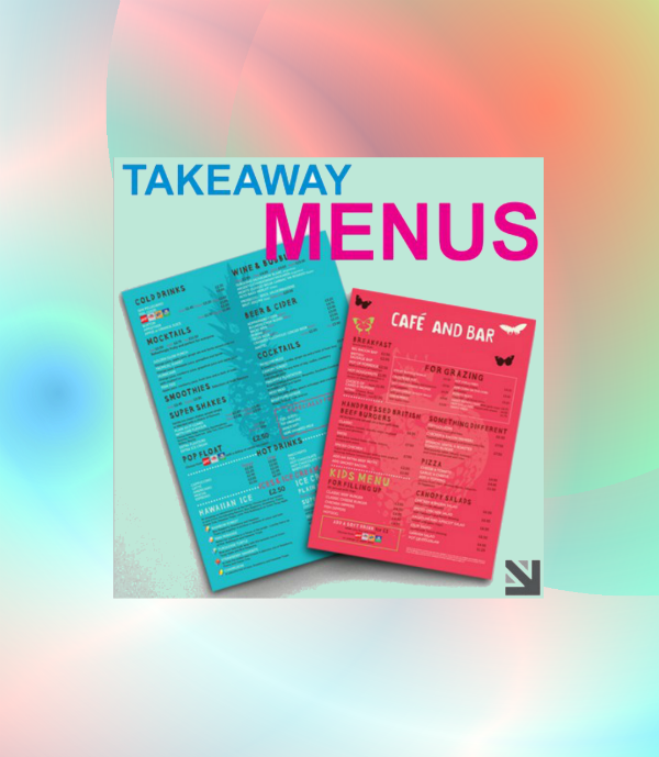 cafe and bar takeaway menu design featured img