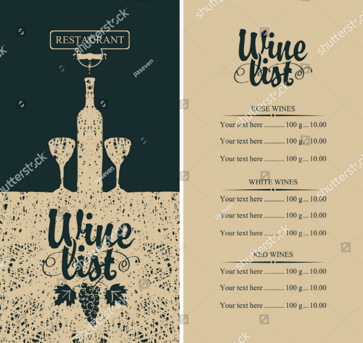 calligraphic-inscription-wine-menu-design