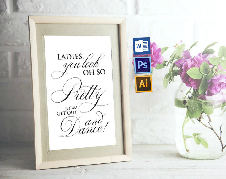 calligraphy-wedding-bathroom-sign-template