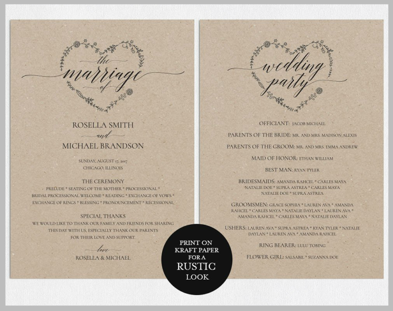 diy-wedding-program-template