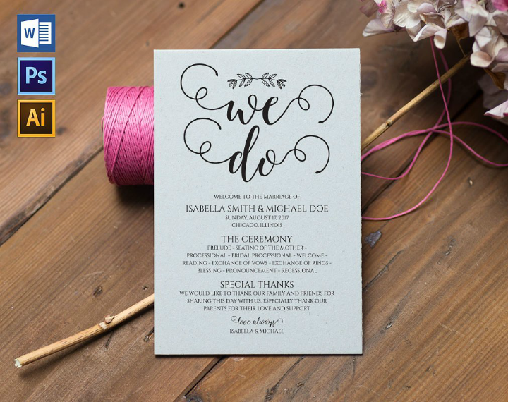 elegant-wedding-program-template