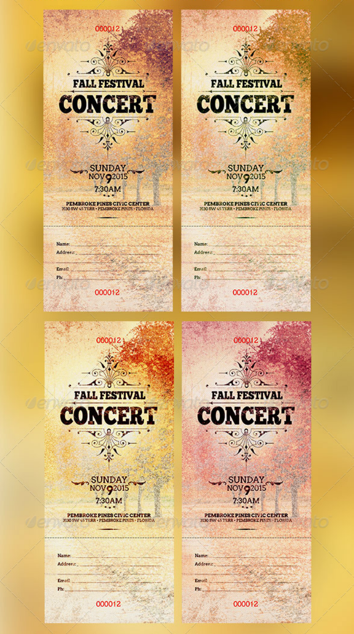 fall-festival-concert-ticket-template