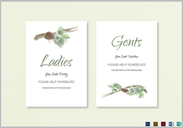 fall-wedding-bathroom-signs-template