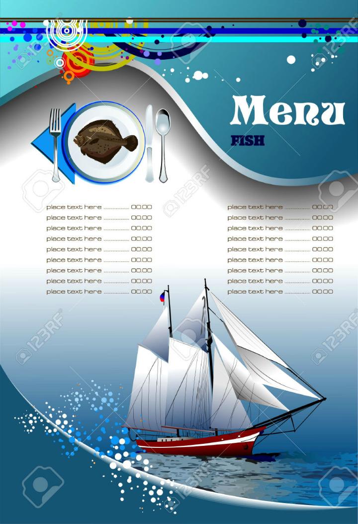 fish-restaurant-blank-menu-template