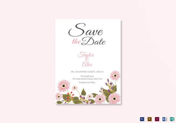 floral-save-the-date-card-template