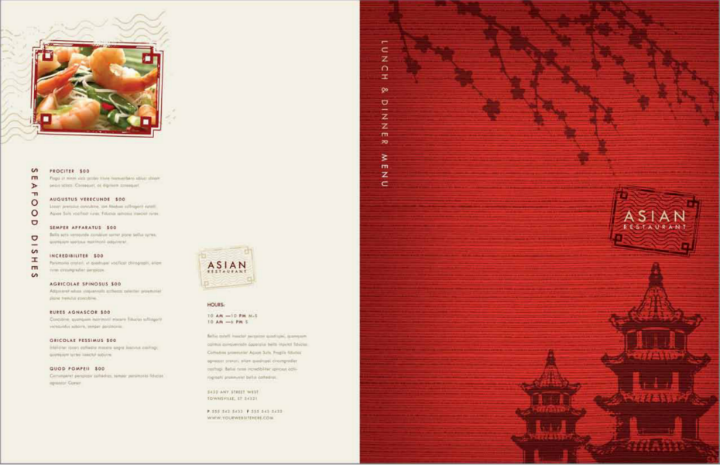 28 free menu templates free premium templates for Asian cuisine menu