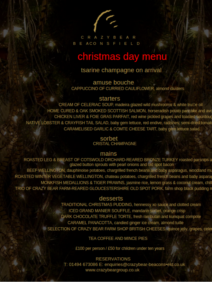 free-christmas-day-menu-template