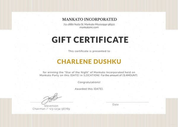 Gift certificate template word 8 free word documents download free gift certificate template maxwellsz
