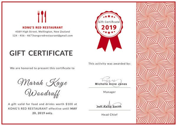 free-gift-certificate-for-restaurant-template