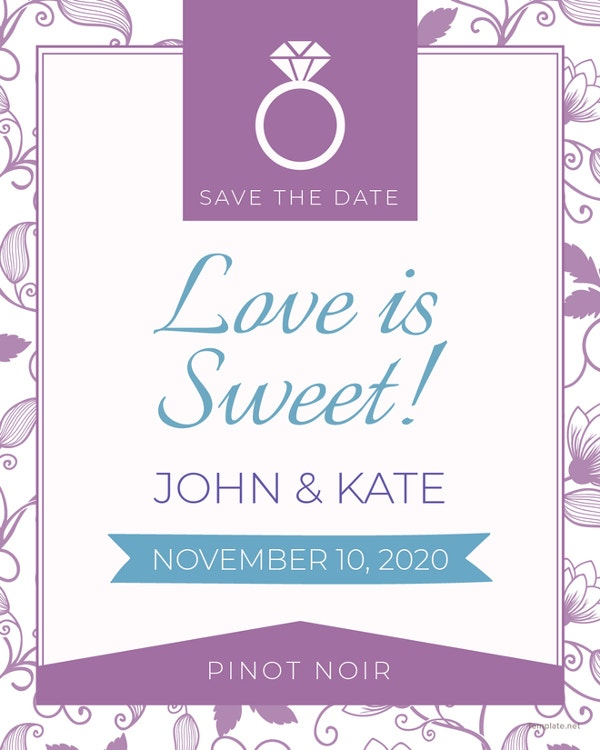 free-save-the-date-label-template