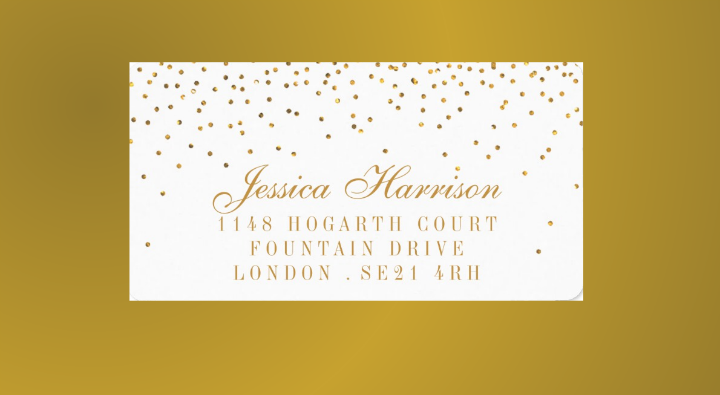 gold-confetti-wedding-address-label
