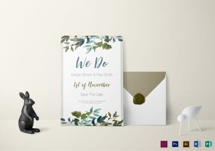 green foliage wedding invitation template e1509613945615