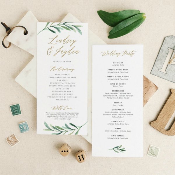 14 Wedding Program Templates Psd Ai Free Premium