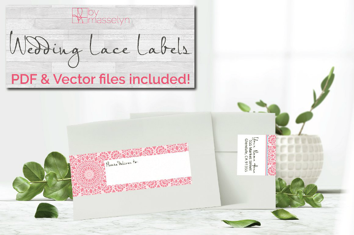 lace-wrap-wedding-address-label
