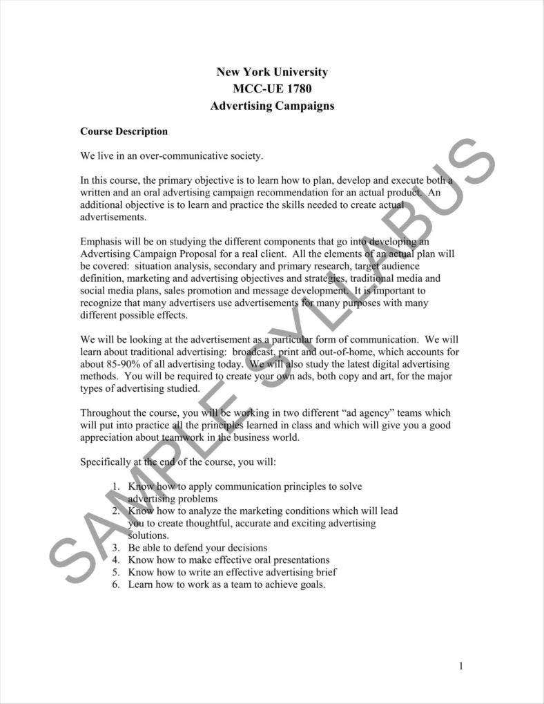 15+ Advertising Proposal Templates - Word, Apple Pages, PDF