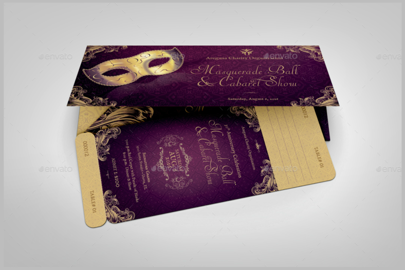 masquerade-ball-dinner-ticket-template