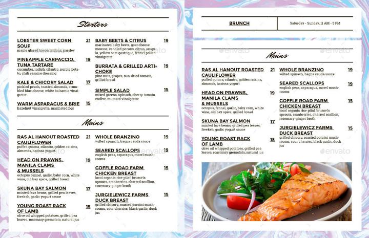 minimalist-indesign-menu-template